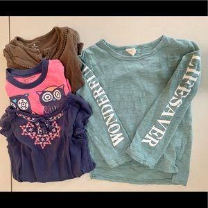 2/$14 🌲Wonderful Shirt Bundle Little Girls 4T